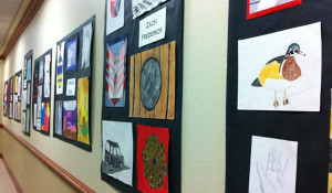 AES Artists Shine at ArtSpark!