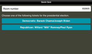 Romney/Ryan Ticket Wins in AES Mock Election