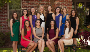 Homecoming Court Enjoys Week of Activities