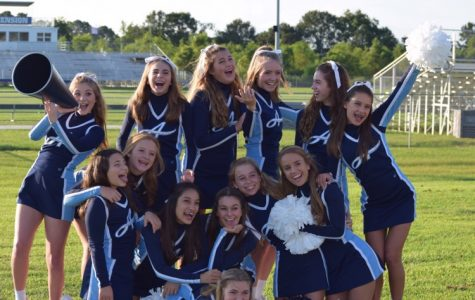 New JV Cheerleading Squad!