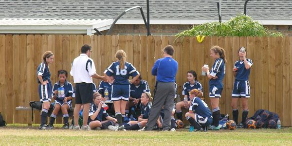 Girls Soccer Puts More AES Athletes in Play