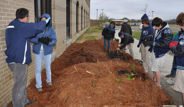 Gators Put Down Roots with Pilot Garden