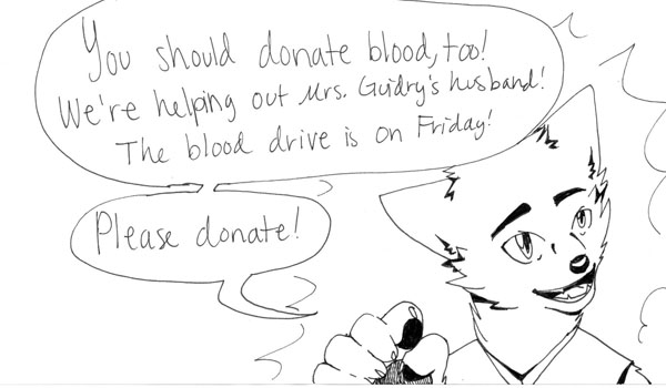 Plan to Donate Blood on Friday