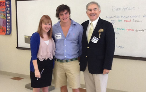 French Nobility Visits Ascension