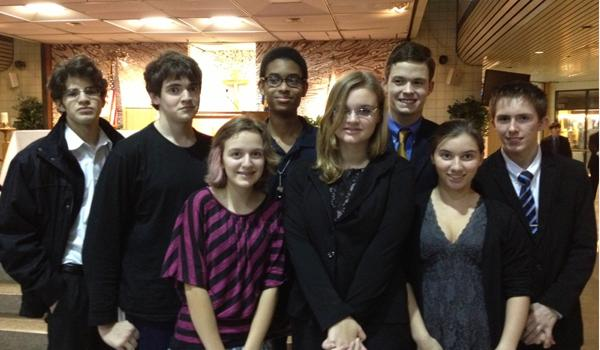 AES Speech Students Have the Last Say at Tournament