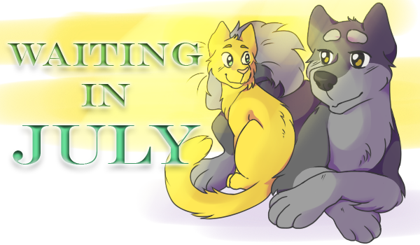Waiting in July cover1