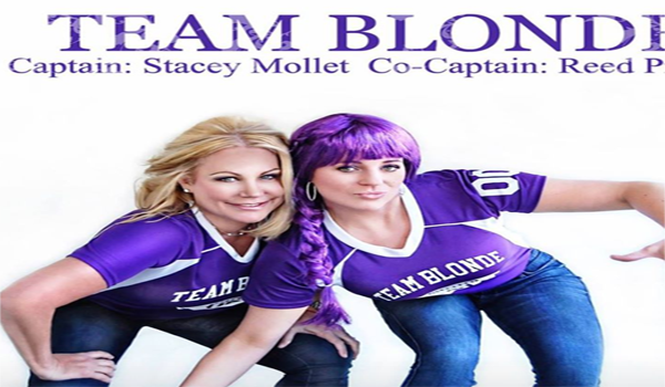 Blondes vs. Brunettes Flag Football Game: Help Fight The Alzheimer's Disease