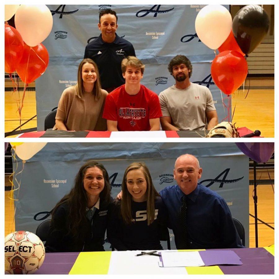National Signing Day: Sarah Beadle & Jeffery Elkins