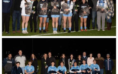 Senior Night for Girls and Boys Soccer