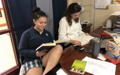 Challenging Mrs. Bourque in a Reading Competition?!