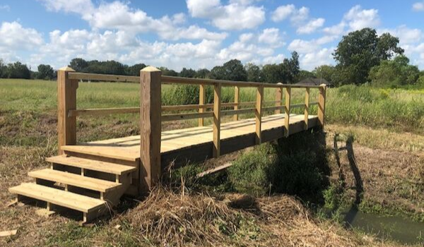 Brayden Crouchet: Building of the Cajun Prairie Bridge