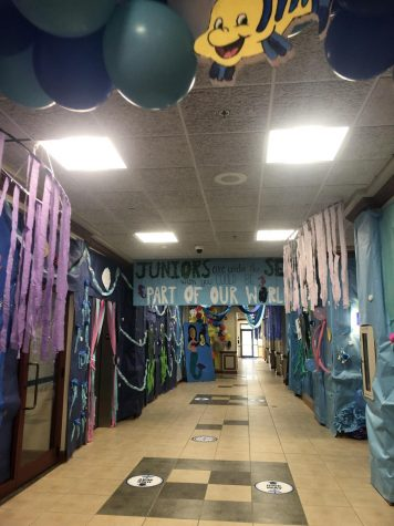 Hallway Decorating Extravaganza