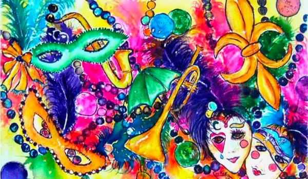 Mardi Gras with a Covid Twist